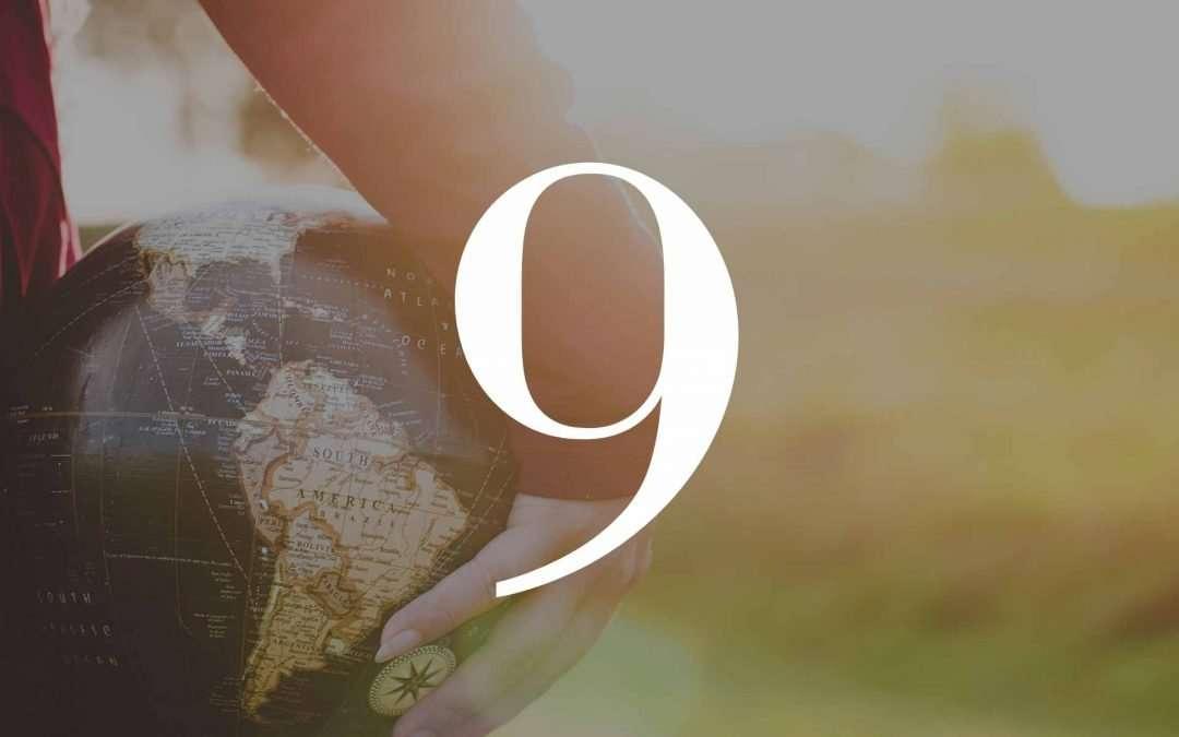 Numerolody - Numerologia, wibracja urodzeniowa 9