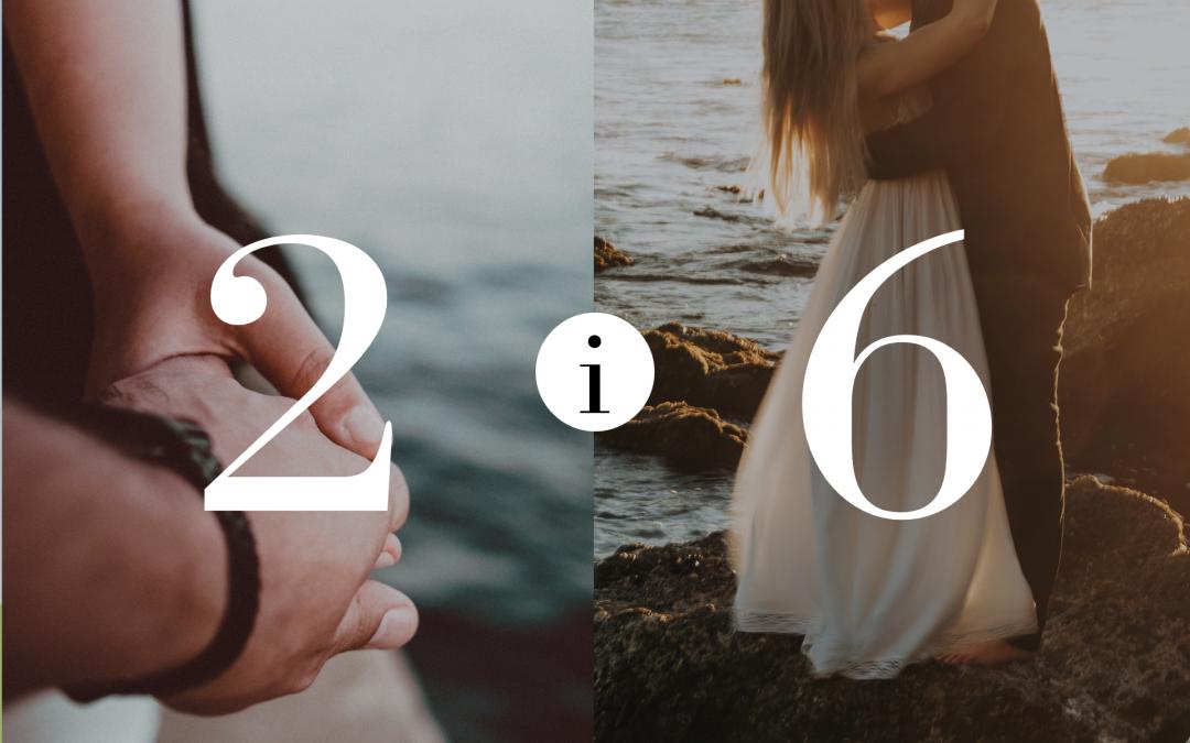 Związek 2 i 6 – Numerologia dla Par