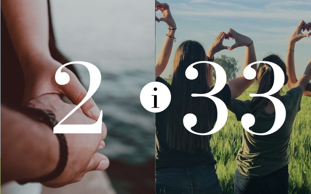 Numerologia Par 2 i 33 - Dorota Zwierzh - NumeroloDy