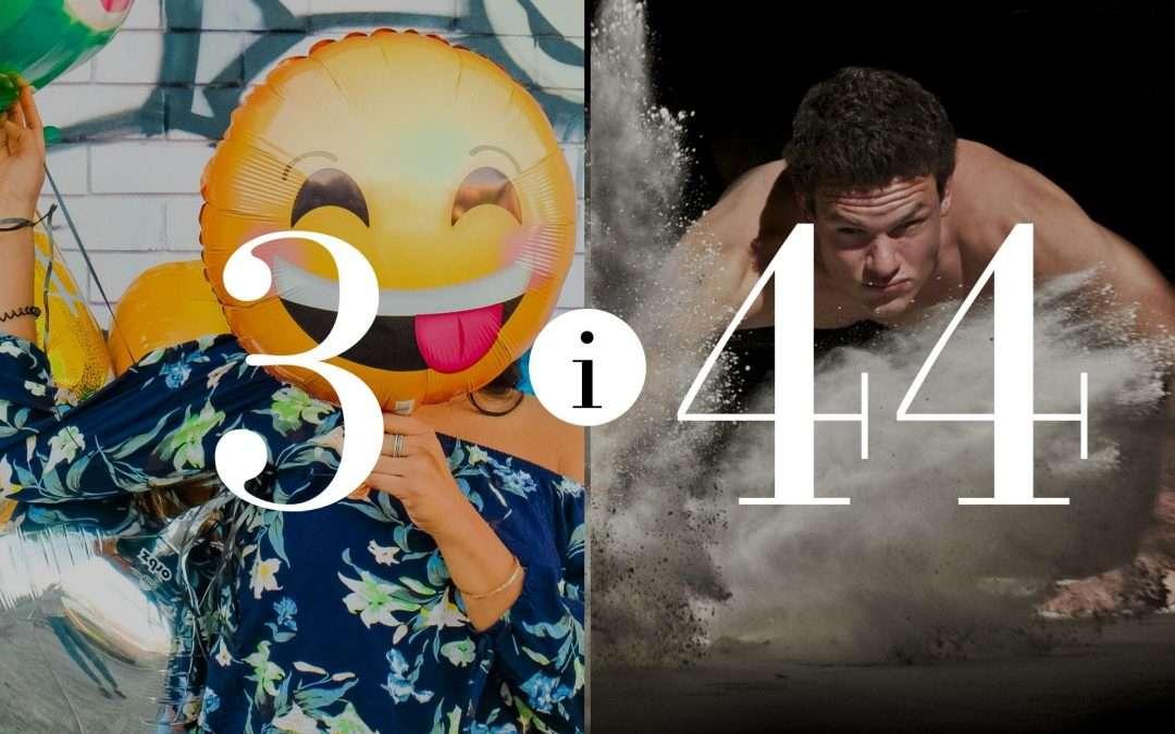 Związek 3 i 44- Numerologia dla Par