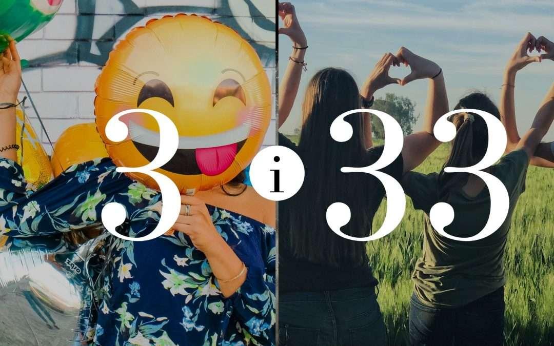 Numerologia Par 3 i 33 - Dorota Zwierzh - NumeroloDy
