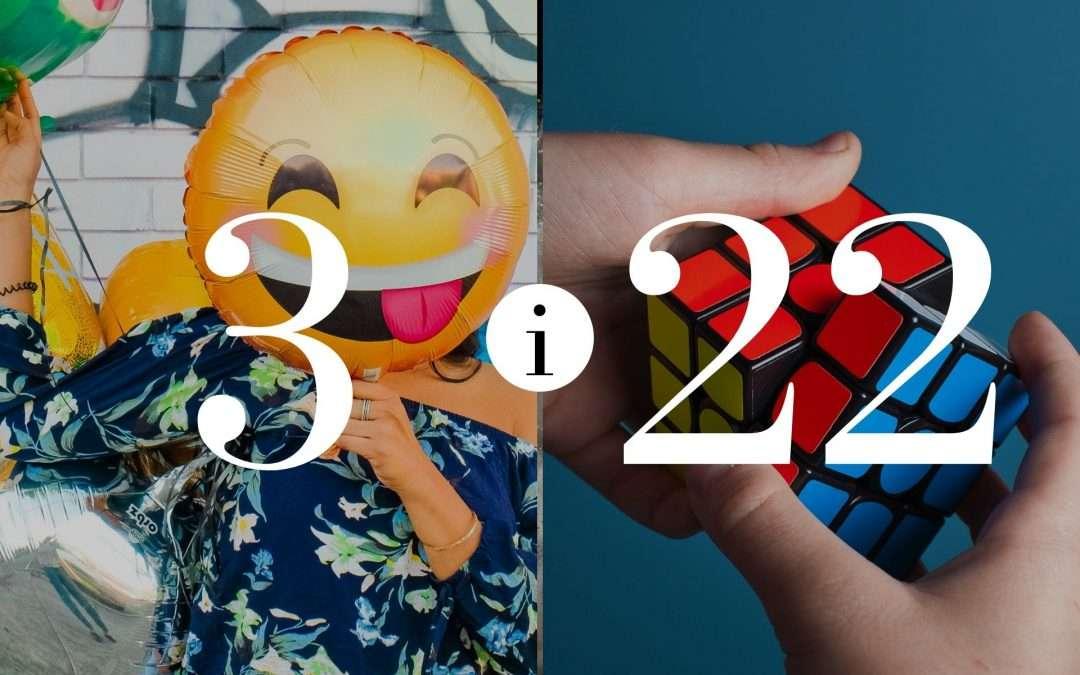 Numerologia Par 3 i 22 - Dorota Zwierzh - NumeroloDy