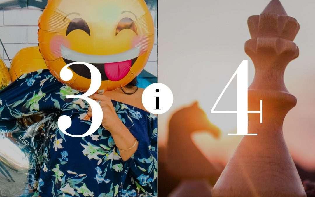 Związek 3 i 4 – Numerologia dla Par
