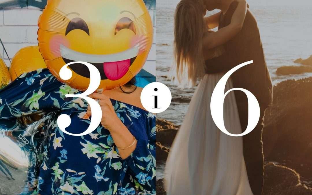 Związek 3 i 6 – Numerologia dla Par