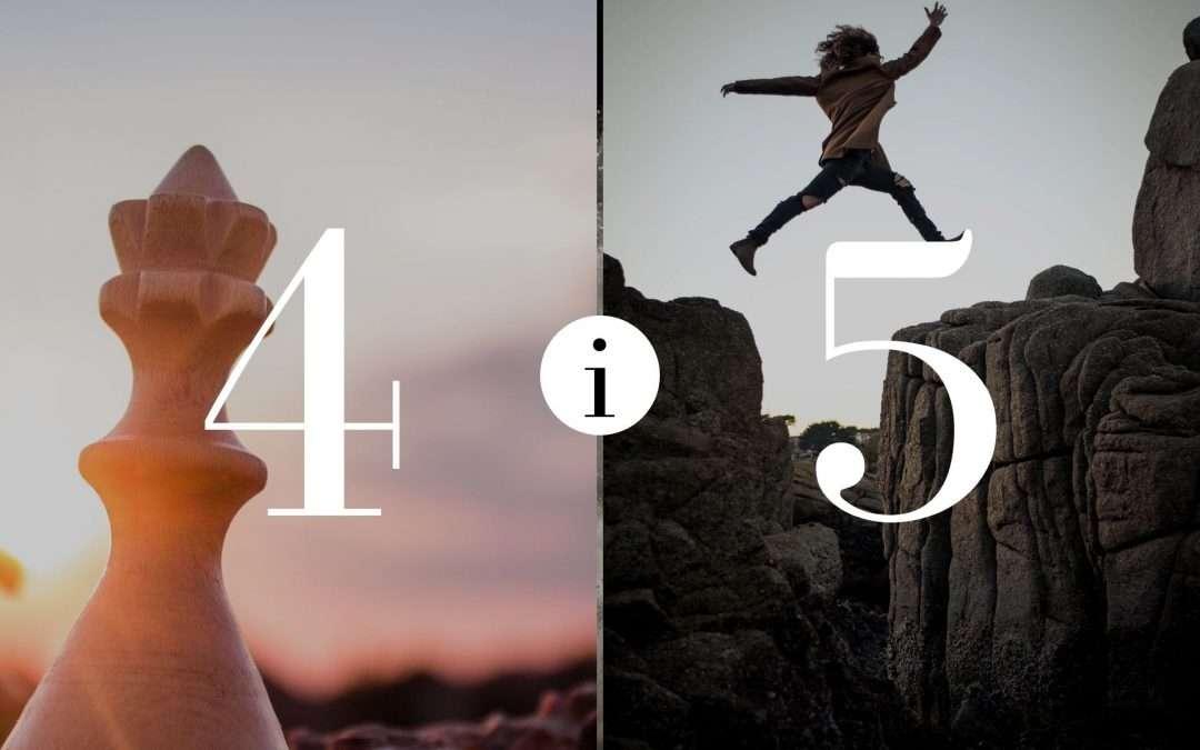 Związek 4 i 5- Numerologia dla Par