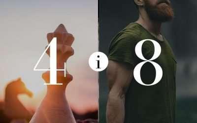 Związek 4 i 8- Numerologia dla Par