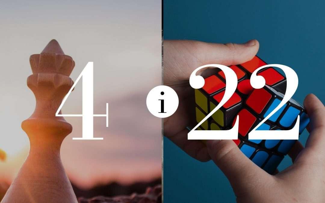 Numerologia Par 4 i 22 - Dorota Zwierzh - NumeroloDy