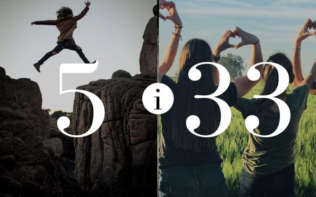 Związek 5 i 33 – Numerologia dla Par