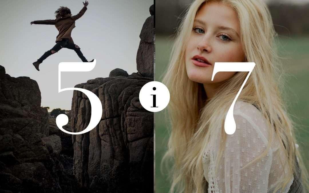Numerologia Par 5 i 7 - Dorota Zwierzh - NumeroloDy