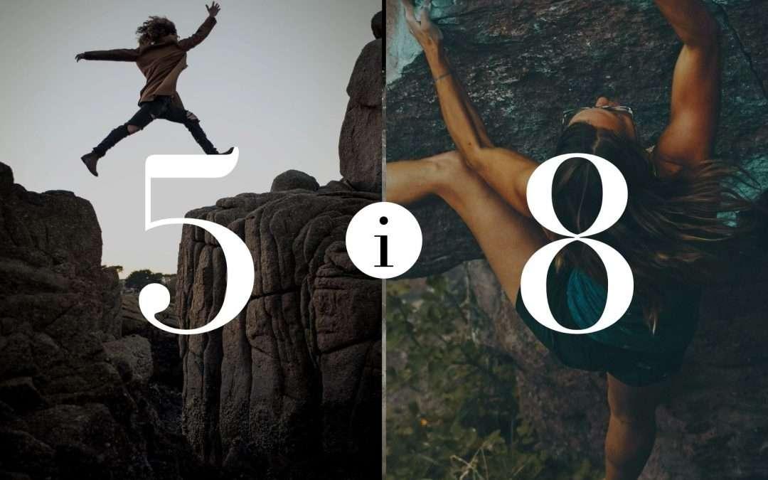 Związek 5 i 8 – Numerologia dla Par