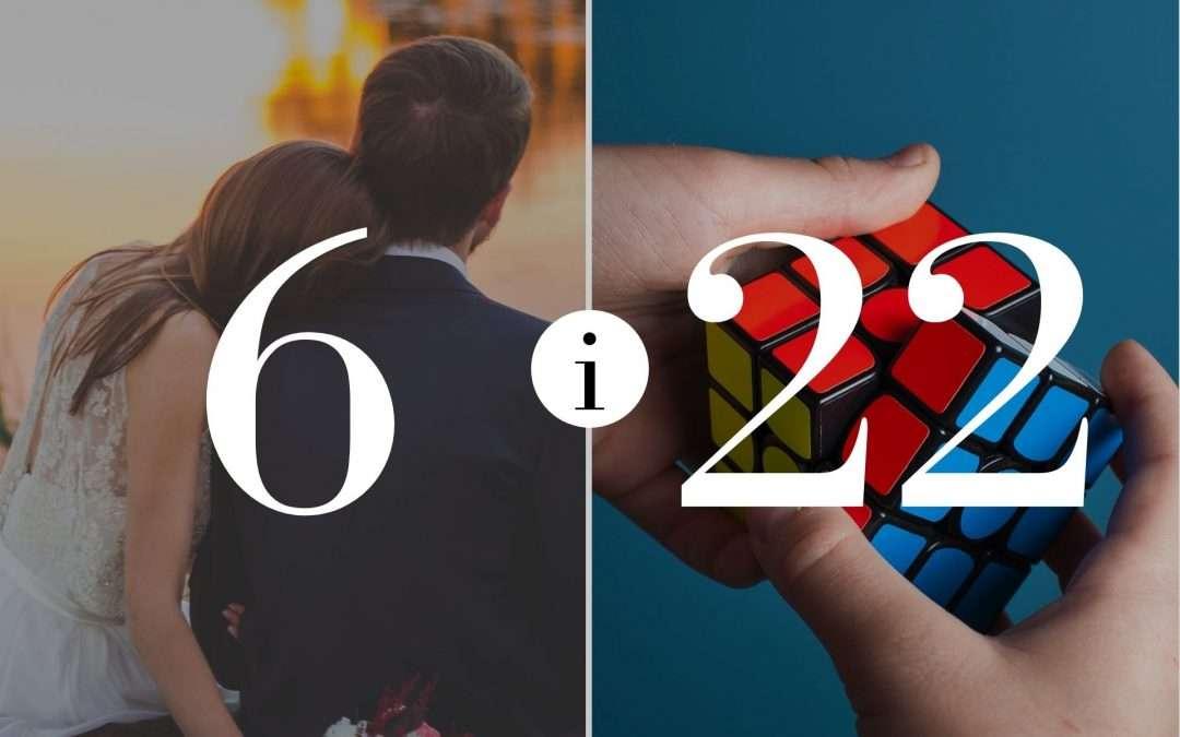Związek 6 i 22 – Numerologia dla Par
