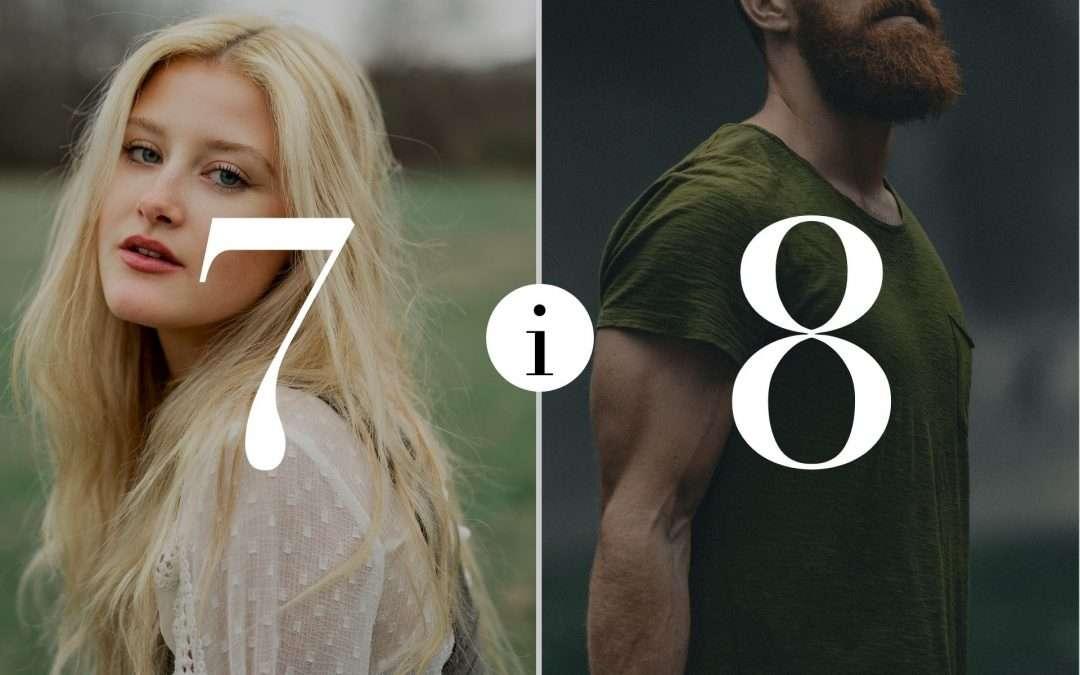 Numerologia Par 7 i 8 - Dorota Zwierzh - NumeroloDy