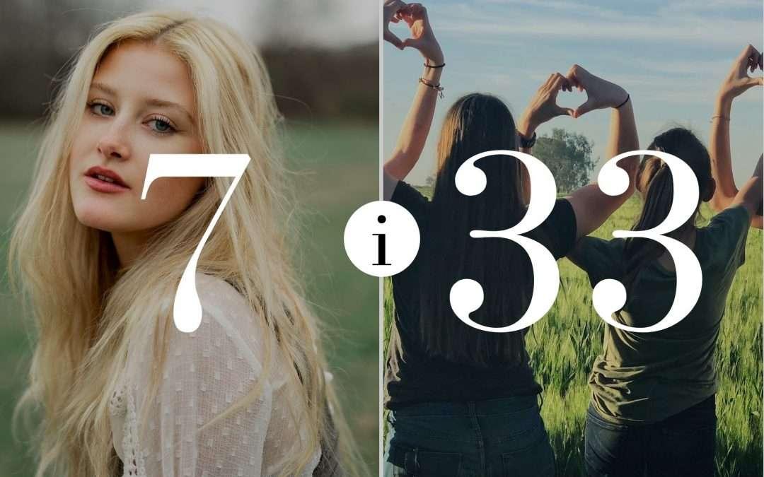 Numerologia Par 7 i 33 - Dorota Zwierzh - NumeroloDy
