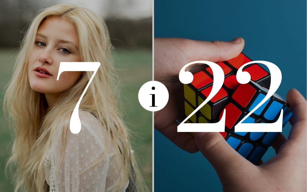 Numerologia Par 7 i 22 - Dorota Zwierzh - NumeroloDy