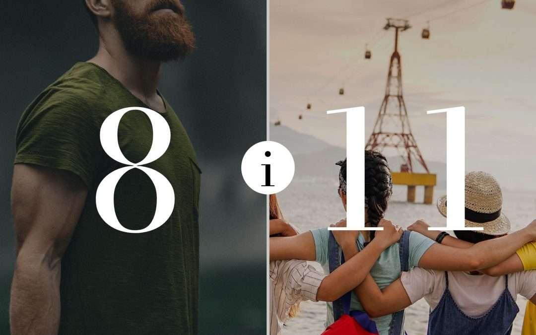 Numerologia Par 8 i 11 - Dorota Zwierzh - NumeroloDy