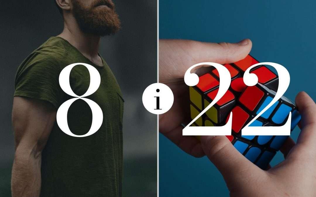Numerologia Par 8 i 22 - Dorota Zwierzh - NumeroloDy