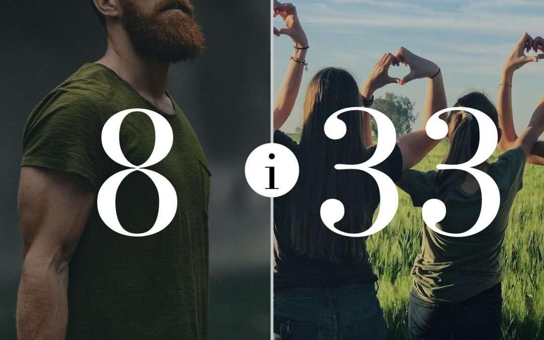 Numerologia Par 8 i 33 - Dorota Zwierzh - NumeroloDy