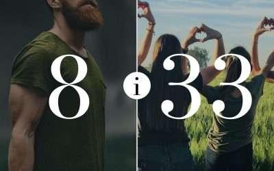 Związek 8 i 33 – Numerologia dla Par