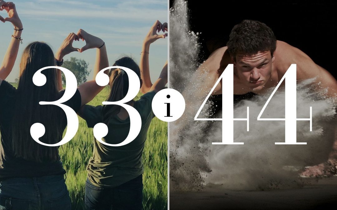 Związek 33 i 44 – Numerologia dla Par